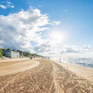Daytrip to the beach Jurmala